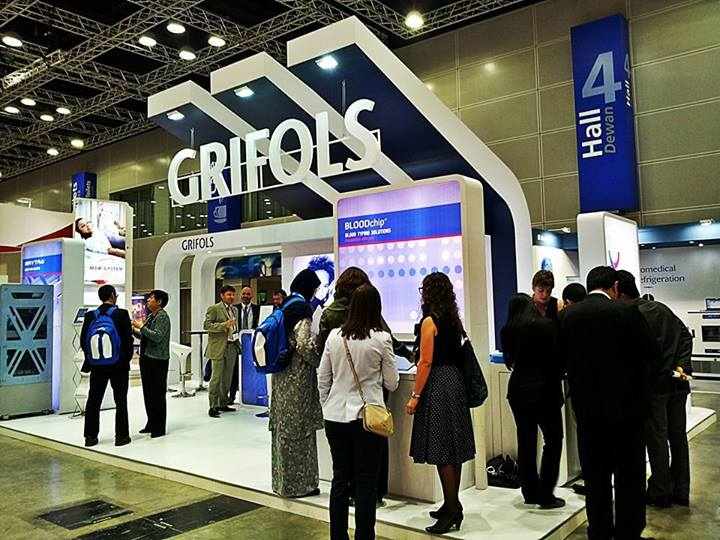 Grifols Booth@ISBT,KLCC(2013)